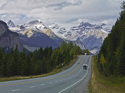 Y120831 Photograph - Trans Canada Highway by Frank J Wicker