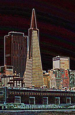 Transamerica Building Art Print