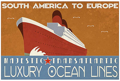 Advertising Digital Art - Transatlantic by Cinema Photography