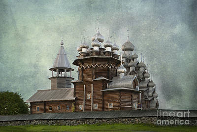 Photograph - Transfiguration Cathedral. Kizhi Island. Russia by Juli Scalzi