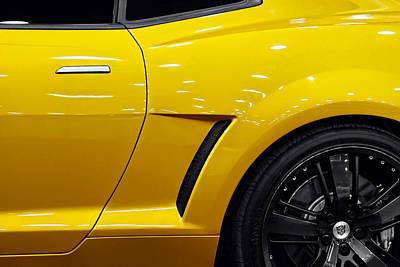 Movies Star Paintings - Transformers Camaro by Gordon Dean II