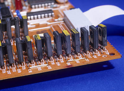 Transistors And Diodes Art Print by Andrew Lambert Photography
