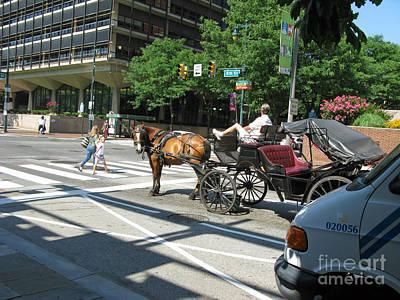 Photograph - Transportation In Philadelphia Pa by Ausra Huntington nee Paulauskaite