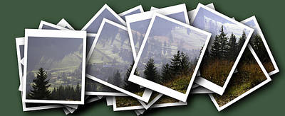 Transylvania Digital Art - Transylvania Landscape by Odon Czintos
