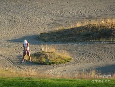 Photograph - Trap - Chambers Bay Golf Course by Chris Anderson