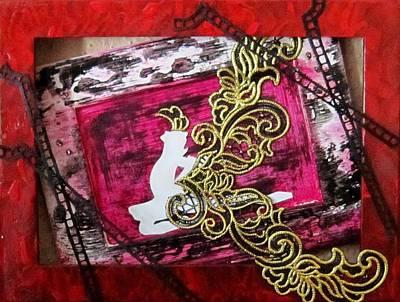 Painting - Trap In Beauty by Jarunee Ward