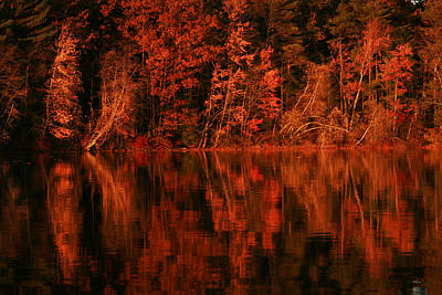 Photograph - Trapps Point Lake Winnisquam by Benjamin Dahl