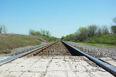 Photograph - Travelin' The Rails by Robyn Stacey