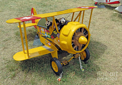 Photograph - Travelling Pandas. Ready To Take Off. Oshkosh 2012 by Ausra Huntington nee Paulauskaite