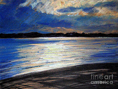 Pastel - Traverse Bay by Lisa Dionne