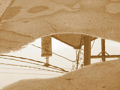 Photograph - Traverse City Reflections 4 by Beth Akerman