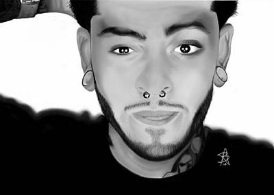 Digital Art - Travie Mccoy by Angelee Borrero
