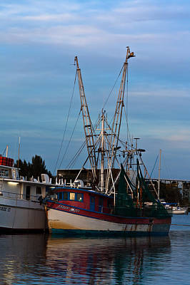 Photograph - Trawler At Port by Ed Gleichman