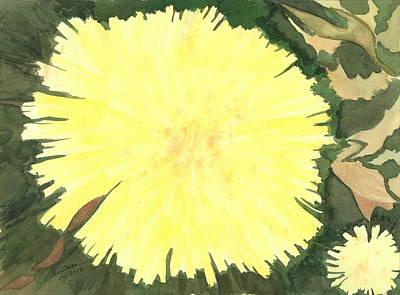 Painting - Traxacum Officinale by Joel Deutsch