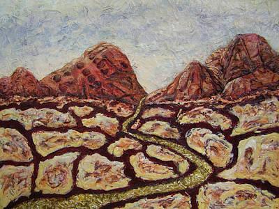 Treasures Of Copper Canyons Art Print by Jan Reid