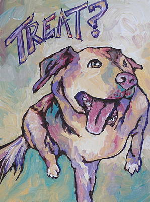 Wag Painting - Treat by Sandy Tracey