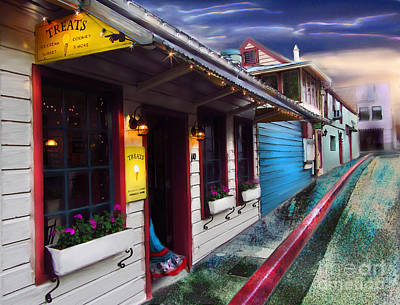 Digital Art - Treats In Nevada City by Lisa Redfern
