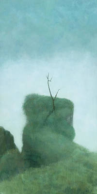 Mist Painting - Tree At Iguazu by Steve Mitchell