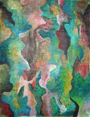 Painting - Tree Bark  by Jessica J Murray