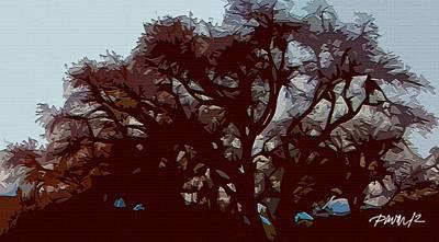 Digital Art - Tree-d by Jim Pavelle