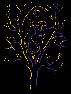 Tree Dancers Art Print by Shane Robinson
