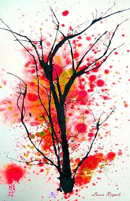 Painting - Tree by Laura Rispoli