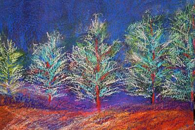 Tree Line Art Print by Karin Eisermann