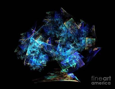 Modern Digital Art Digital Art - Tree Of Knowledge by Klara Acel