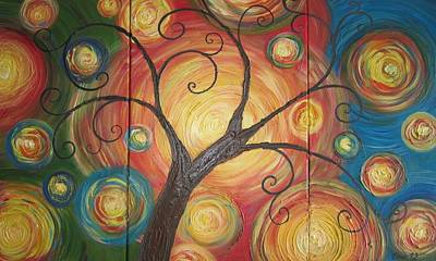 Tree Of Life  Art Print by Ema Dolinar Lovsin