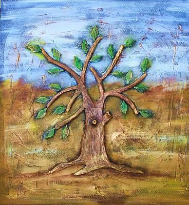 Tree Of Life Art Print by Junior Polo