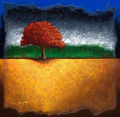 Celotti Painting - Tree Of Life by Mauro Celotti