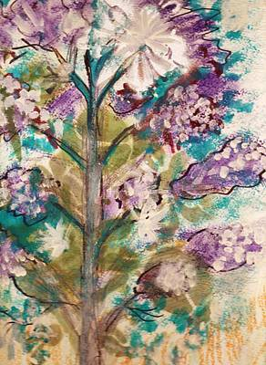 Tree Of My Imagination Art Print by Anne-Elizabeth Whiteway