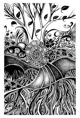 Tree Series 44 Art Print