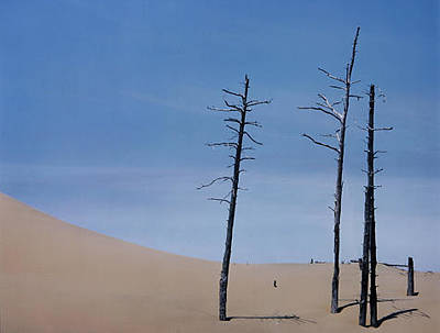 Trees And Dune Original