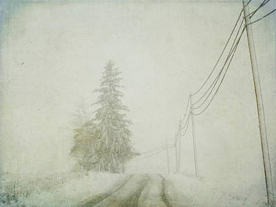 Winter Landscapes Photograph - Trees And Wires by Nichole Renee Photography