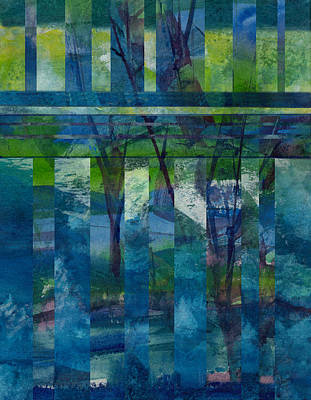Photograph - Trees Dancing On Water by Adele Greenfield