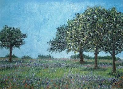 Trees Art Print by Gizelle Perez