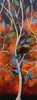 Truck Art - Trees in The Breeze II by Peggy Davis
