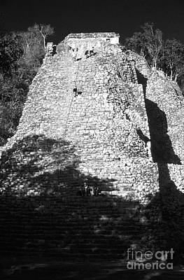 Photograph - Trek To The Top Coba Mexico by John  Mitchell