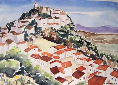 Painting - Tresorio De San Martin by Regina Ammerman