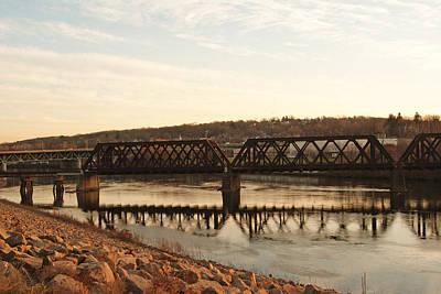 Photograph - Trestle Bridge by Margie Avellino