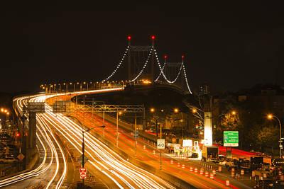 Photograph - Tri-boro Bridge by Theodore Jones