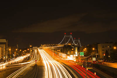 Photograph - Tri-borough Bridge by Theodore Jones