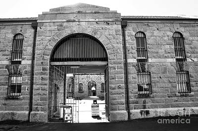 Trial Bay Jail Print by Kaye Menner