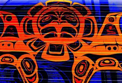 Indian Tribal Art Digital Art - Tribal Council 3 by Randall Weidner