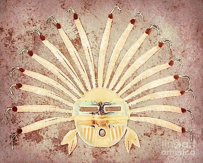 Tribal Mask I Print by Arne Hansen