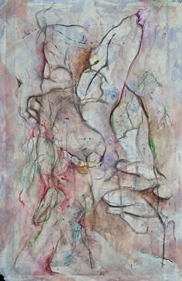 Tribulations Art Print by David  Beers
