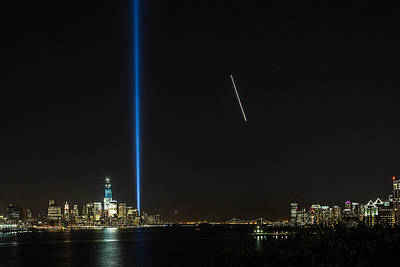 Tribute In Light Art Print by John Dryzga