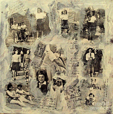 Mixed Media - Tribute To Family by Ruby Cross