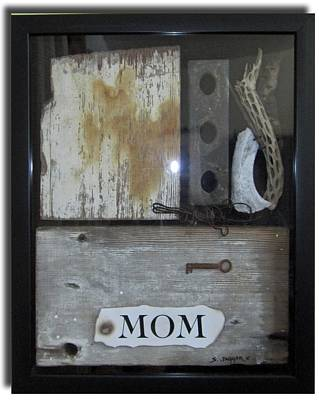 Tribute To Mom Art Print by Snake Jagger